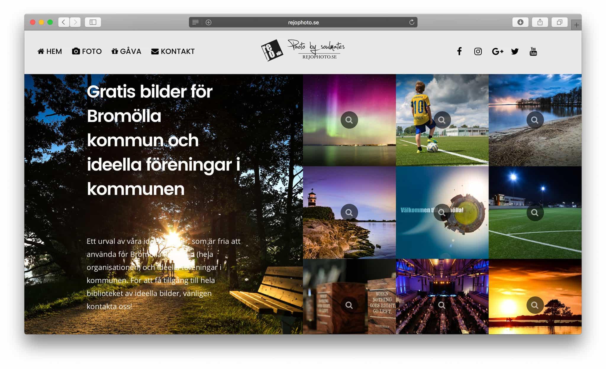 Webbplats & SEO / Sökmotoroptimering